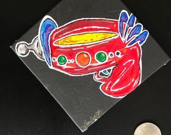 Mini Raygun Painting