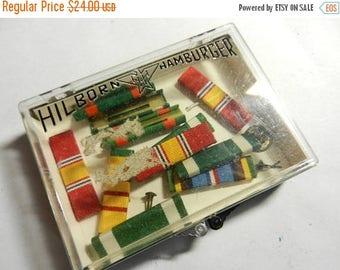 Summer Sale 11 Vintage Vietnam War era US Navy Ribbons in H&H Box