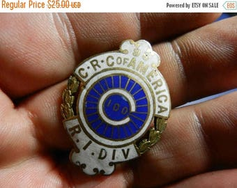 Easter Sale Vintage Christian Reformed Church in North America Road Island Division Members Badge