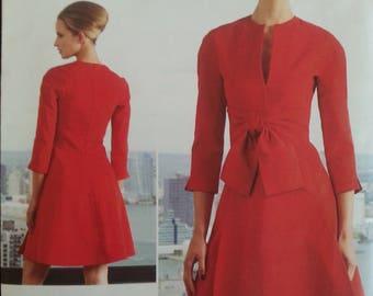 Vogue 1317 - Chado Ralph Rucci - Misse's dress - Sizes 8-10-12-14-16