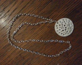 Necklace with corn paste Pendant
