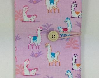Circular needle case, alpaca needle case, fixed circular case, sock needles case, knitting needle roll, knitters gift, needle holder,