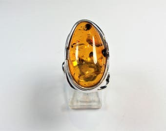 Amber Statement Ring
