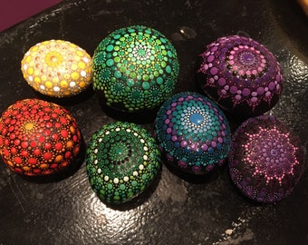 Colours of Light, Mandala Stones