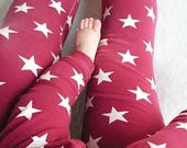 Mummy Leggings Ladies Leggings Womens Leggings Matching Leggings Twinning Adult Leggings Star Leggings