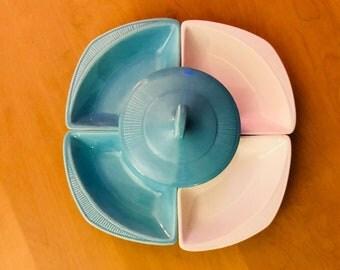 1960's Lazy Suzan California Pottery