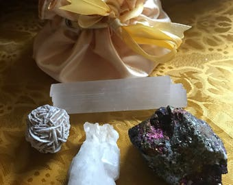 Fairy Crystal Healing Pouch