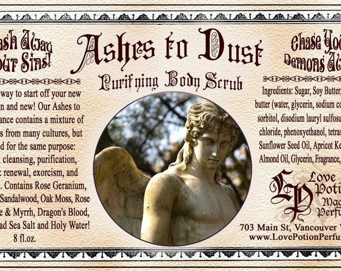 Ashes to Dust - Sugar Scrub - Love Potion Magickal Perfumerie