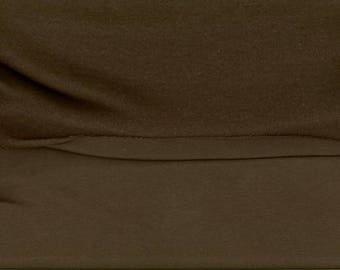 Very soft taupe SWEATSHIRT fabric, cozy back