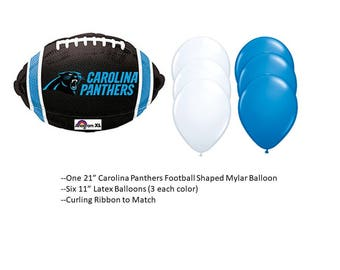 Carolina Panthers Balloons