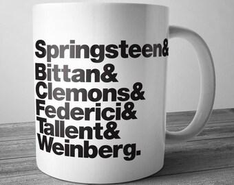 Springsteen Rock Band Mug