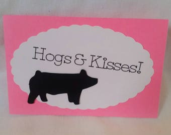 Show Pig Valentine's Day Cards