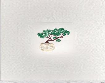 Bonsai Tree Foldover Note