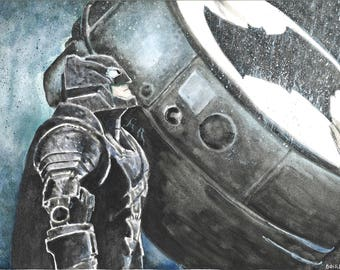 The Dark Knight Print