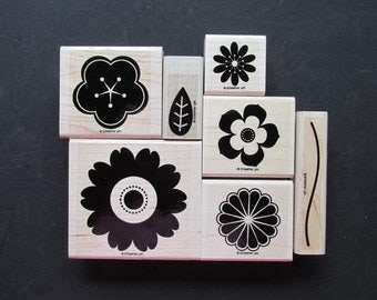 """Stampin' Up! - Retired - """"Petal Pizzazz"""" - 7 Images"""