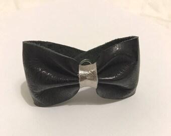 EMPTY workshop knot leather bracelet