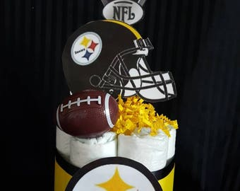 Steelers cake topper Etsy