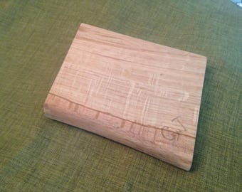 One off Gin and Tonic natural edged mini chopping board