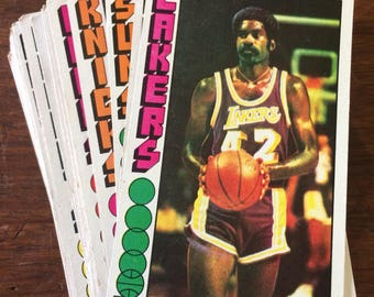 Nice Lot of 56 1976 Topps Basketball Trading Cards