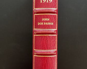 1919 by John Dos Passos, First Edition, First Issue,  Asprey Fine Binding