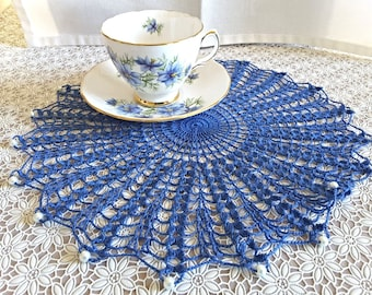 BEADED DOILY or Jug Cover