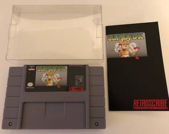 Super Nintendo SNES Greeting Cart gift card holder (Valentine's Day) - Retroscribe