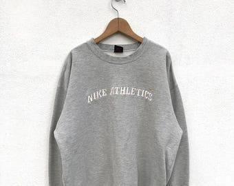 20% OFF Vintage Nike Embroidery Logo Sweatshirt/Nike Sweater/Nike Air Jordan/Nike Sportwear/Nike Oregon/Nike Athletics