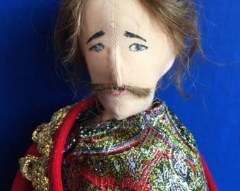 Handmade Cloth Doll Dartanian