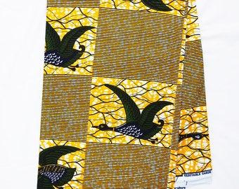 Ankara African print Fabric/ African fabric by the yard/ Wax print fabric/ African fabric/ Ankara/ ethnic fabric/ flying bird/ african wax