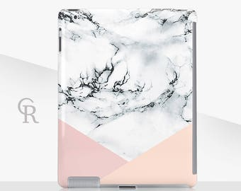 Marble iPad Case For - iPad 2, iPad 3, iPad 4 and iPad Mini, iPad Air, iPad Air 2, iPad Mini 4 Snap on Case