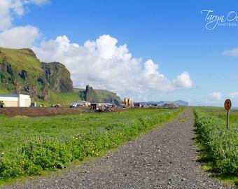 Iceland Vik Road Photography Print