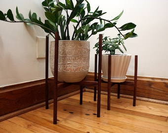 Mid-Century Plant Stands