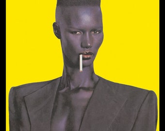 Grace Jones Nightclubbing Poster