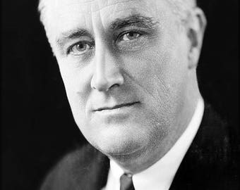 Poster, Many Sizes Available; Franklin D. Roosevelt
