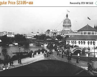 20% Off Sale - Poster, Many Sizes Available; Jackson Park (Chicago) During The 1893 World'S Columbian Exposition Chicago Worlds Fair