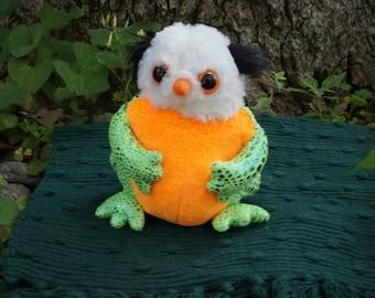 Fred Bob. FrankenFuzzie. Soft Sculpture. Stuffed Animal. Toy