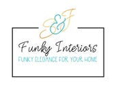 RESERVED S&J Funky Interiors Logo Design