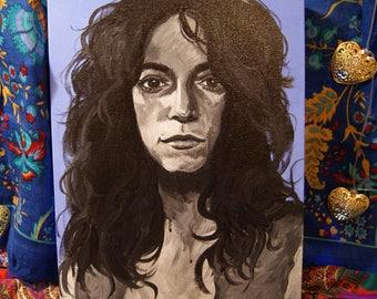 Patti Smith - Painting