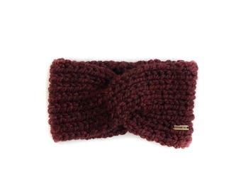 Chunky Knit Twist Turban Ear Warmer Winter Headband   THE BRIAR