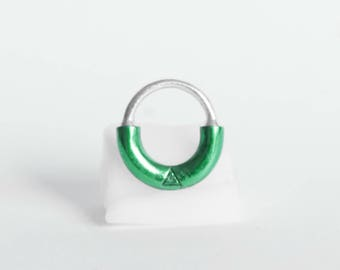 S & M | Septum Piercing-Silver 925 Enamel Version