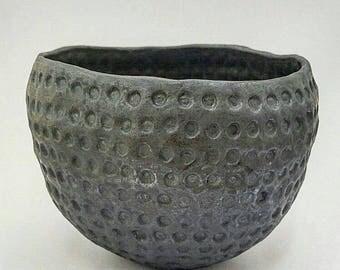Ceramic Pinch Pot Texture Pinch Pot Handbuilt Flat Coil