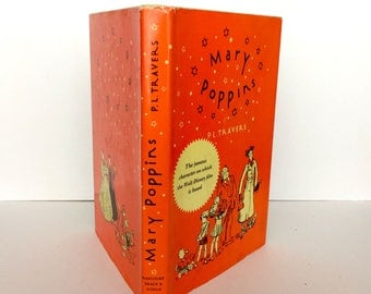 Mary Poppins, P.L. Travers, 1962, Classic Children's Books, Illustrated Childrens Book, Hardcover Book, Mary Shepard, Vintage Childrens Book