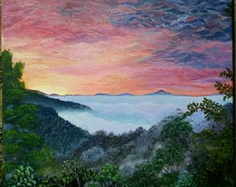 Purple Mountains Majesty Cindyslittlestore Cindy Coggins Scott The view from The Vineyard at Betty's Creek