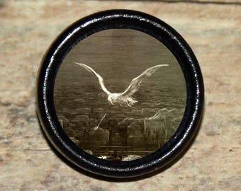 Coleridge ALBATROSS Dore Pendant or Brooch or Ring or Earrings or Tie Tack or Cuff Links
