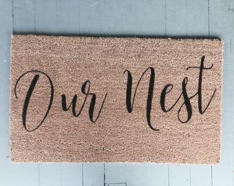 Our Nest|Doormat