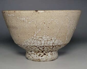 Ido chawan - Antique Korean pottery bowl #2722