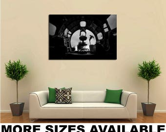 Wall Art Giclee Canvas Picture Print Gallery Wrap Ready to Hang B-17 Bomber 3 bw 60x40 48x32 36x24 24x16 18x12 3.2
