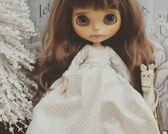 Angel dress for Blythe