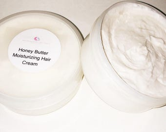 Honey Butter Moisturing Hair Cream 6oz.