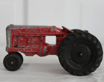 Hubley diecast toy tractor